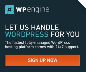 WP Engine Let us handle WordPress for you
