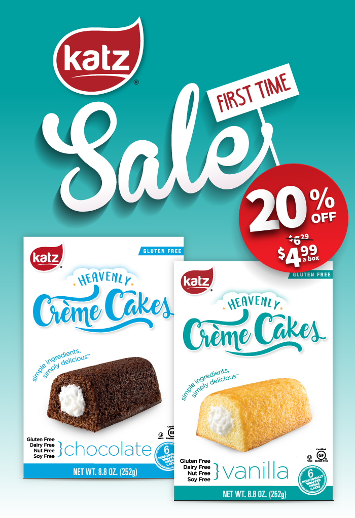 20% Off Heavenly Creme Cakes