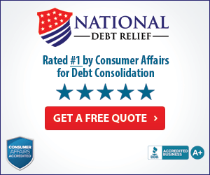 National Debt Relief is rated #1 for debt consolidation