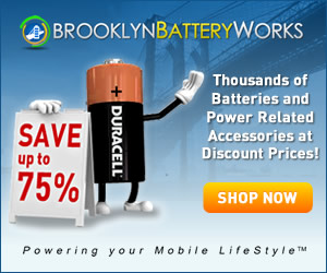 Save Up to 75% Off Retail Prices From Brooklyn Battery Works