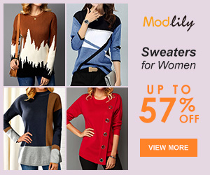 Modlily Sweaters for Women: UP TO 57% OFF!