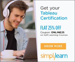 Tableau Desktop 9 Qualified Associate Training Online