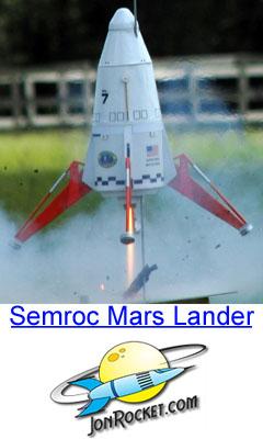 Semroc Mars Lander Model Rocket Kit