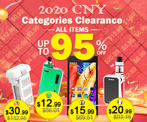 Fasttech 2020 CNY Categories Clearance-up to 95% off