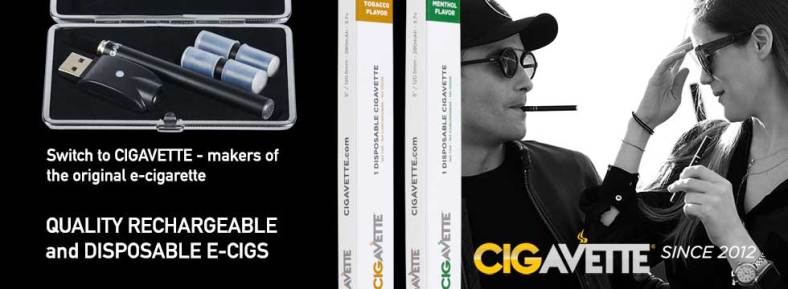 Quality Rechargeable and Disposable E-Cigs