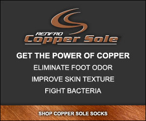 Shope for Copper Sole Extreme Athletic Socks