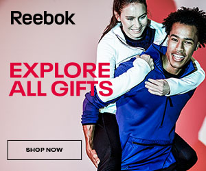 Don't forget to grab your gifts at Reebok!
