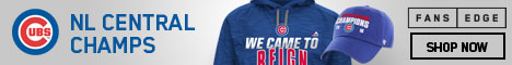 Chicago Cubs 2016 NL Central Champs