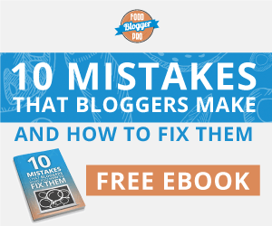 10 Mistakes that Bloggers Make Free eBook