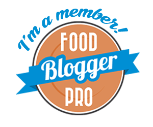 I'm a member of Food Blogger Pro. Learn how to start and grow your food blog.