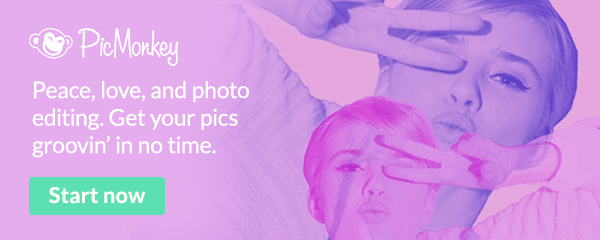 Get your pics groovin' in no time at all with PicMonkey