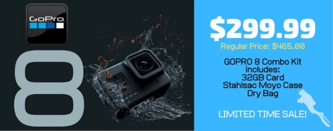 GoPro 8 Limited time sale at House of Scuba