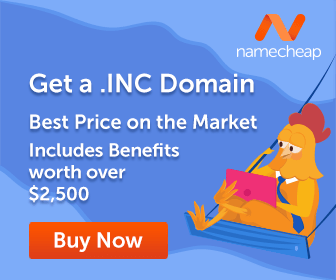 Get .INC today. Best Price on the Market!