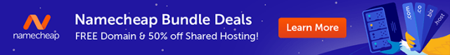 Free Domain & 50% off Shared Hosting