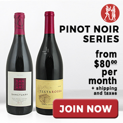 Pinot Nois Series Club Memberships starting at only $80 per month at WineoftheMonthClub.com