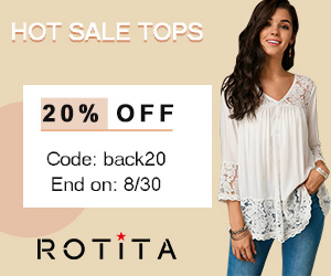 Hot Sale Tops 20% Off Code: back20 End on: 8/30