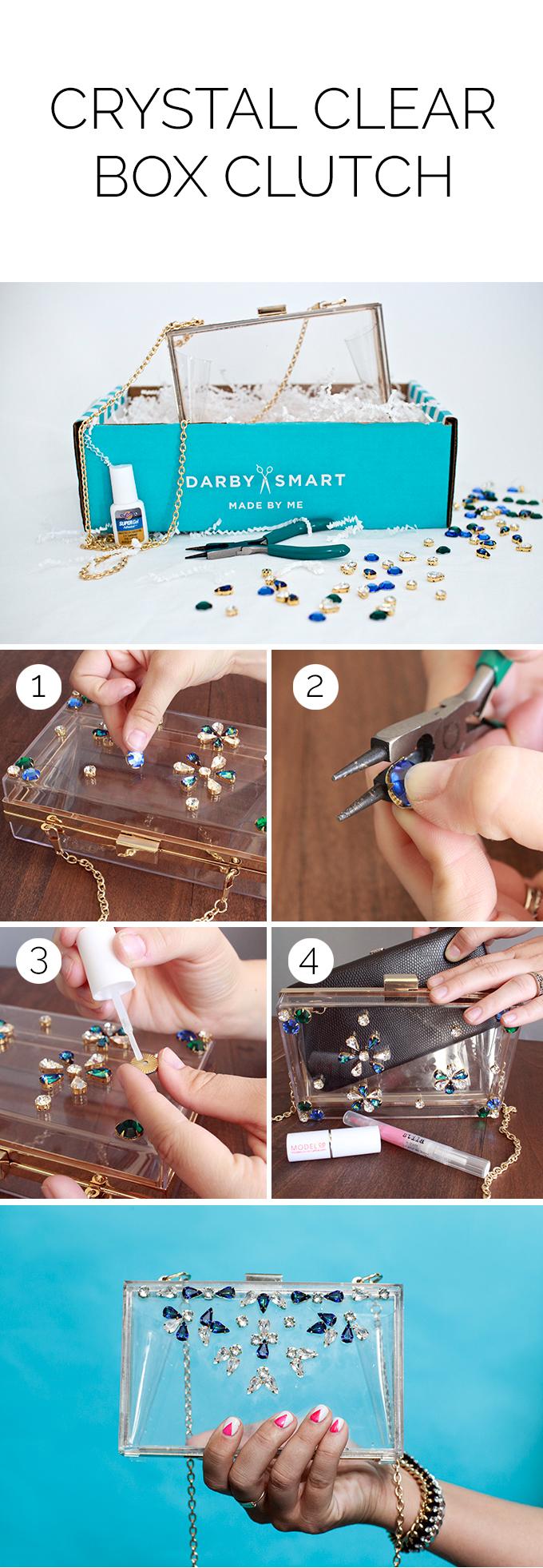 Crystal Clear Box Clutch Kit