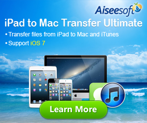 Transfer files on iPad to Mac/iTunes easily