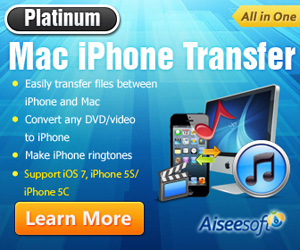 Best solution for iPhone: transfer files between Mac and iPad, convert DVD and video to iPhone
