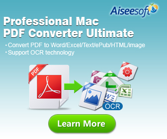 Powerful solution for PDF file: convert PDF to Word, Excel, EPUB, HTML Text and Image on Mac