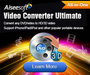 Convert your DVD and video into any format you like without quality loss