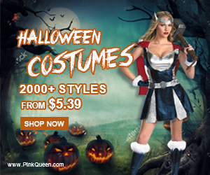 2000+ Sexy Halloween Costumes at PinkQueen.com!