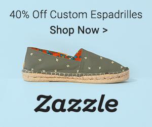 Shop Custom Espadrilles -- Exclusively on Zazzle!