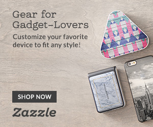 Shop Custom Gear for Gadgets on Zazzle.com