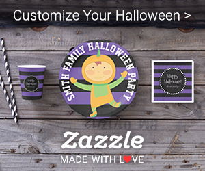 Customize Your Halloween! Shop Halloween Gifts on Zazzle!