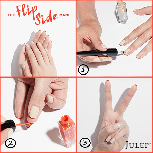 Flip Side Mani Tutorial