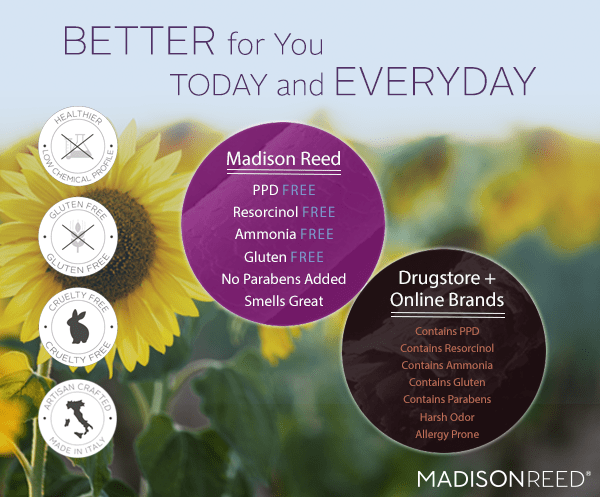 Better for You Today and Everyday Madison Reed