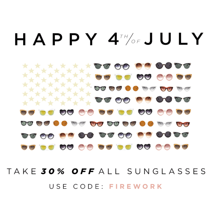 Moorea Seal Sunglasses Sale! 30% Off.