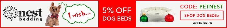 Shop Pet Beds at Nestbedding.com!