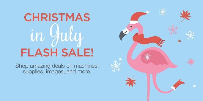 Cricut Christmas in July Flash Sale
