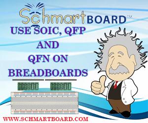 Schmart Board and breadboards