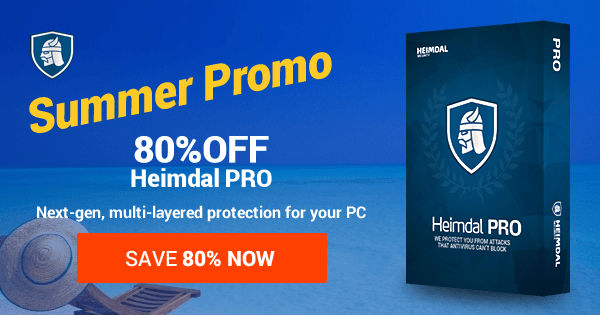 50% off Heimdal PRO: Always-on, multi-layered protection for your PC