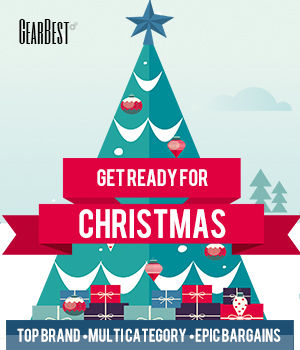 Get Ready for Christmas: Enjoy Up to 66% OFF for Top Brand Electronics @GearBest