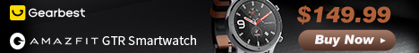 $139.99 Only for AMAZFIT GTR 47mm Smart Watch International Version ( Xiaomi Ecosystem Product )