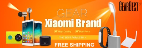 Free Shipping + UP to 67% OFF: Xiaomi Brand Special Collection