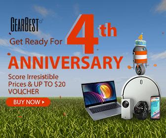 GearBest 4th Anniversary Preheat