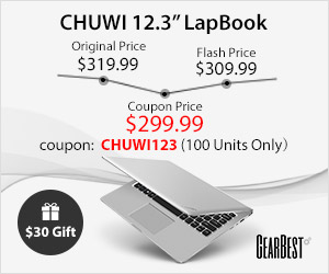 Chuwi Tablet Sale: Win Free Gifts and Grab Exclusive Price @GearBest