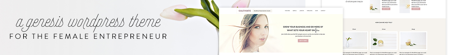 Cultivate Theme