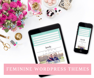 Feminine WordPress Theme Design using the Genesis Framework by Restored 316