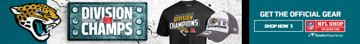 Shop for Jacksonville Jaguars Division Champs Gear at NFLShop.com