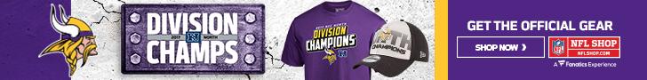 Shop for Minnesota Vikings Division Champs Gear at NFLShop.com
