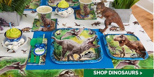 jurassic world birthday party supplies