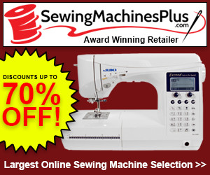 Great Selection and Prices for Sewing Machines