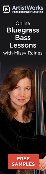 Online bluegrass bass lessons missy raines