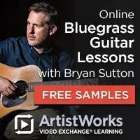 Online bluegrass guitar lessons bryan sutton