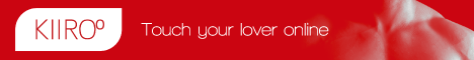 Touch your partner online with KIIROO